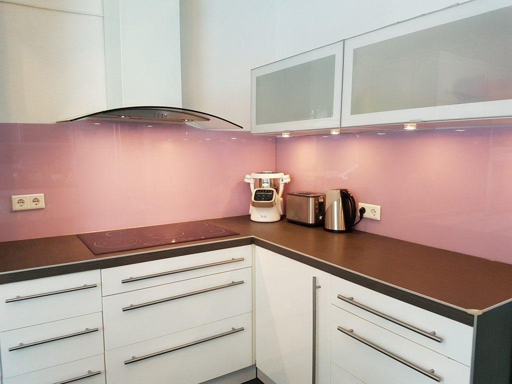 Küchenrückwand lackiert