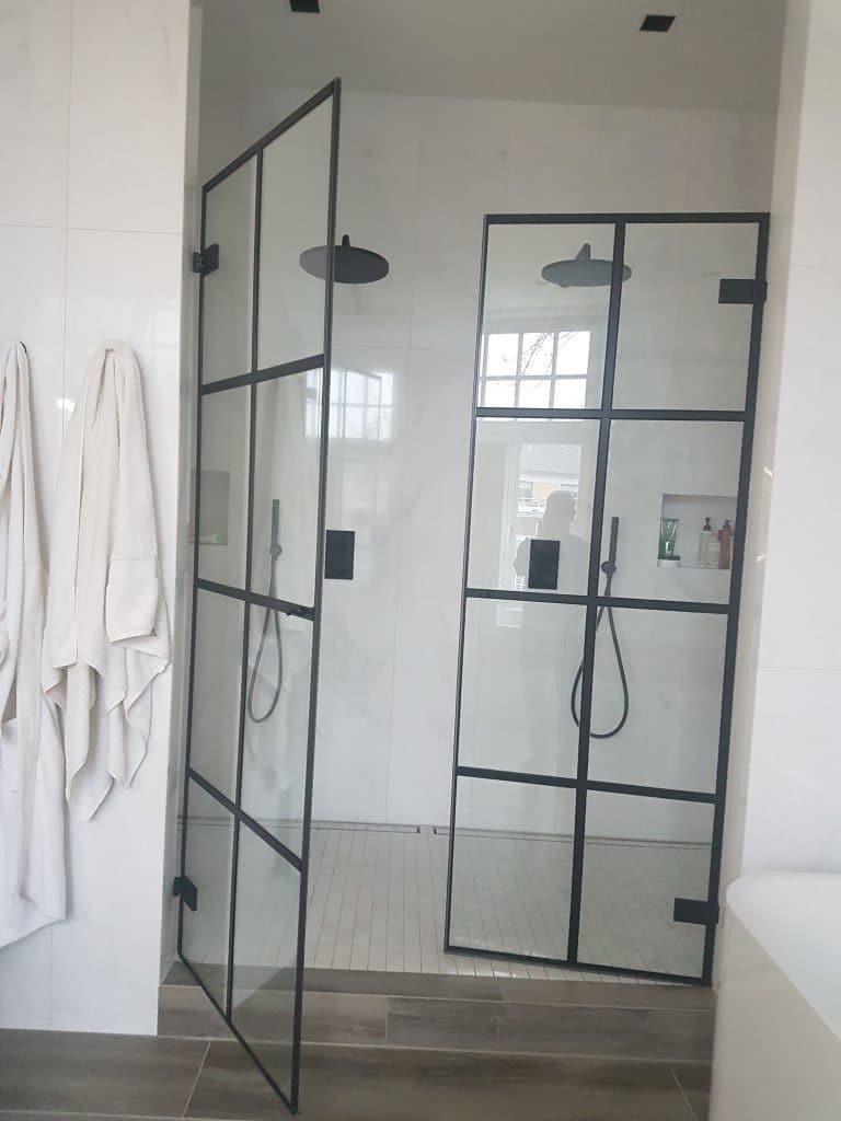Industrie Dusche